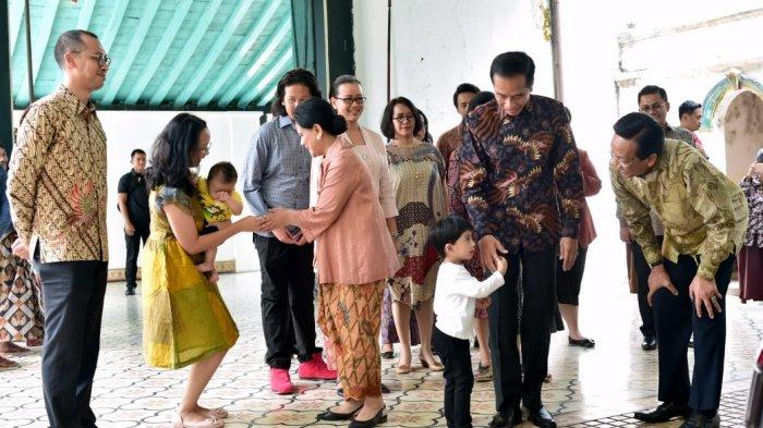 Presiden Jokowi Silaturahmi ke Keraton Yogyakarta