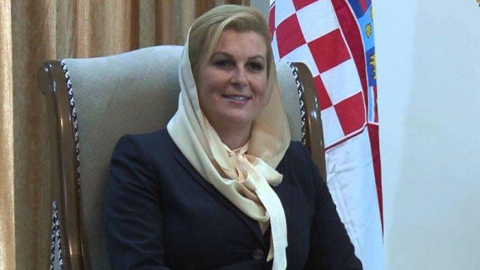 Bikin Pangling! Penampilan Presiden Kroasia Sedot Perhatian di Laga Piala Dunia