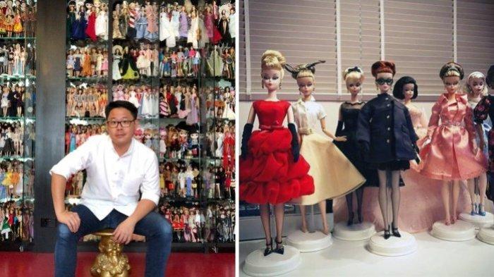 Pria Penggemar Barbie Habiskan Rp 6 Miliar untuk Koleksi Boneka