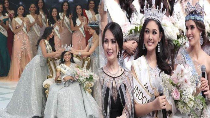 Princess Mikhaelia Audrey dari Jambi Raih Mahkota Miss Indonesia 2019