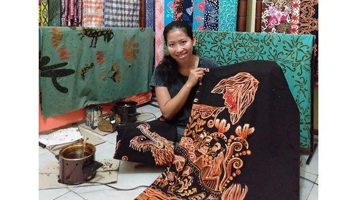 SEJARAH Batik Kote Singkawang yang Dipelopori Priska Yeniriatno