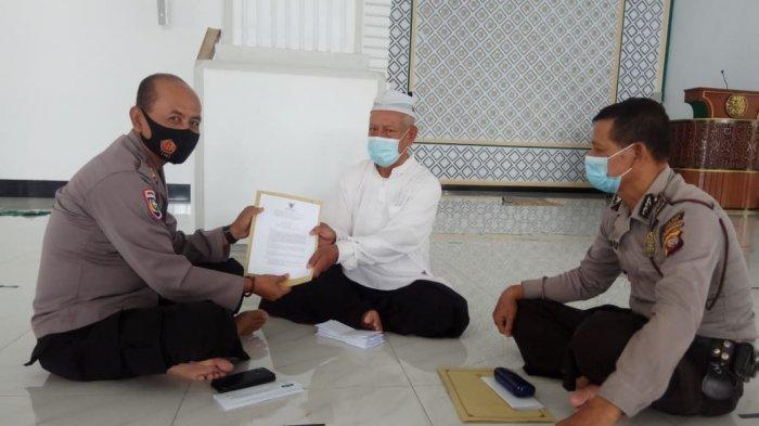 Kasat Binmas Silaturahmi ke Tokoh Agama, Sosialisasikan Surat Edaran Menteri Agama