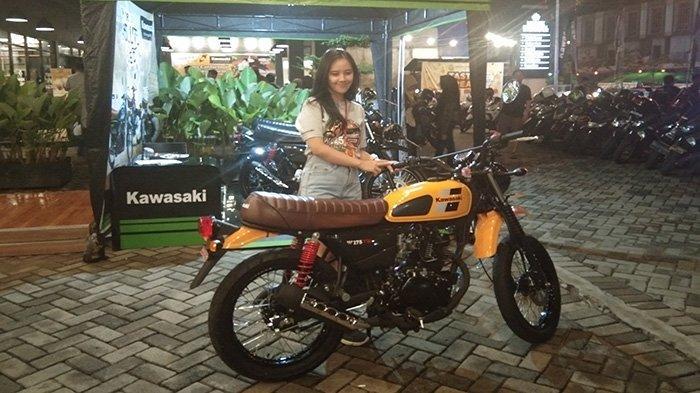 Hadir di Kota Pontianak, Ini Target Penjualan Kawasaki W175 TR