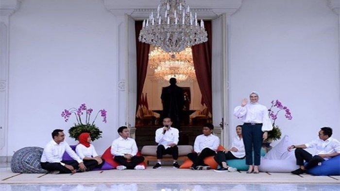 DAFTAR Gaji Tujuh Staf Milenial Presiden Joko Widodo, Gaji Rp 51 Juta Tak Full Time di Istana