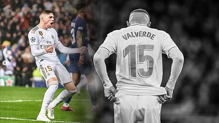 PROFIL Federico Valverde Bintang Real Madrid Biang Atletico Madrid Gagal Menangi Piala Super Spanyol