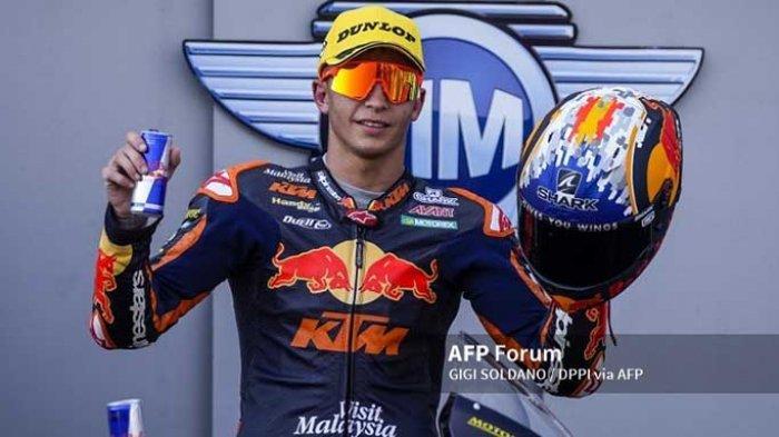 Profil Raul Fernandez - Pembalap Moto2 Calon Pengganti Valentino Rossi di Petronas Yamaha SRT