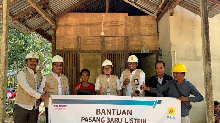 Program One Man One Hope PLN Bantu Pasang Listrik Gratis untuk Warga Miskin