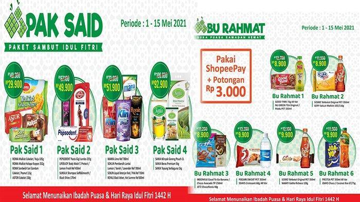 Promo Alfamart 1-15 Mei 2021, Promo Minyak Goreng Murah & Paket Hemat Odol Sabun Snack