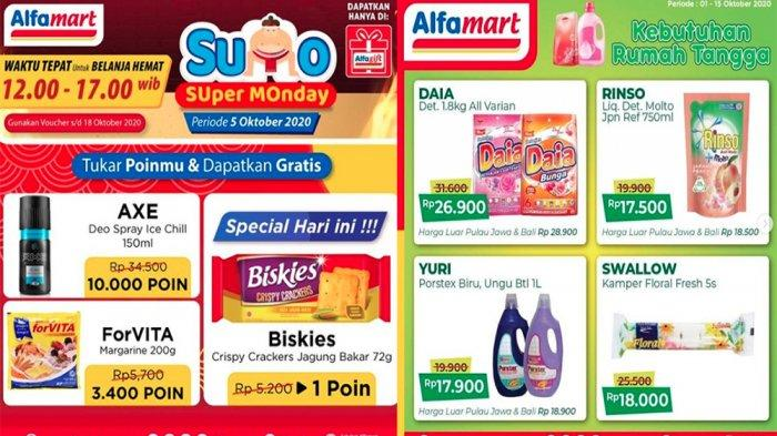 Promo Alfamart 5 Oktober 2020 Kejutan Super Monday Beli 2 Gratis 1 Cek Promo Kado Ultah Alfamart Tribun Pontianak