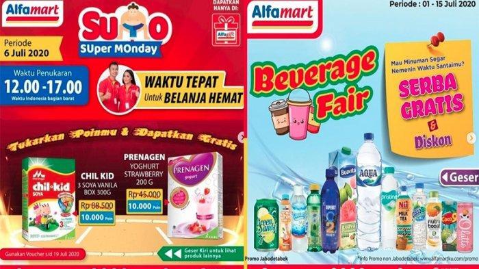 PROMO ALFAMART 6 Juli, Super Monday hingga Beverage Fair Serba Gratis & Diskon hingga 15 Juli 2020!