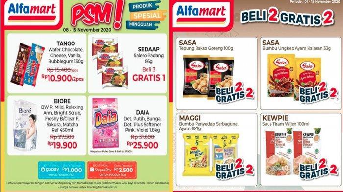 Promo Alfamart 9 November 2020 Produk Spesial Mingguan Hingga Beli 2 Gratis 2 Sampai 15 November Tribun Pontianak
