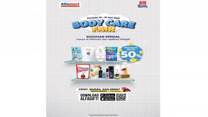 Promo Alfamart Bodycare Fair.