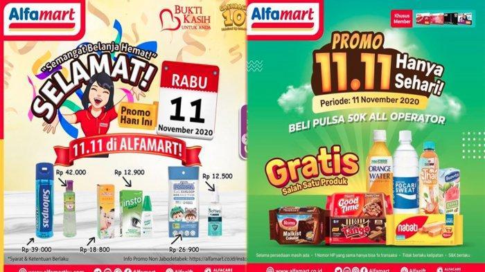 Promo Alfamart Hari Ini 11 November 2020 Promo 11 11 Semangat Belanja Hemat Hingga Minyak Goreng Tribun Pontianak