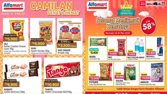 PROMO ALFAMART Hari Ini 24 Mei 2021, Promo Hemat Snack Susu Diapers hingga Produk Spesial Mingguan