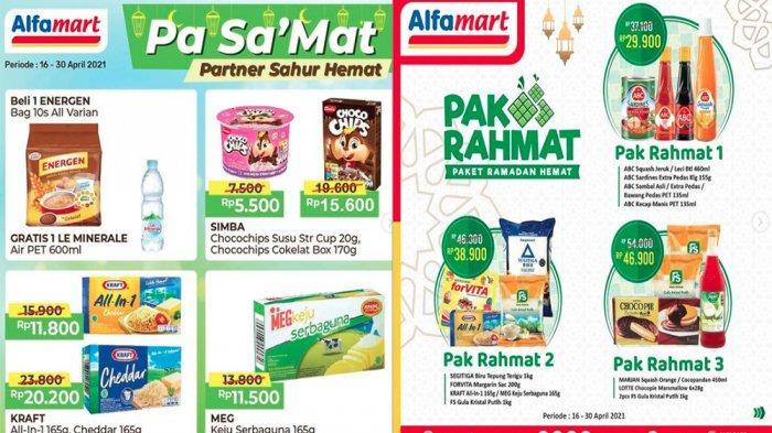 PROMO ALFAMART Hari Ini 26 April 2021, Paket Ramadan Hemat Diskon Tepung Terigu Gula hingga Minuman