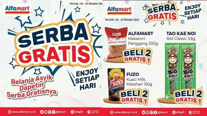 PROMO ALFAMART Hari Ini 6 Oktober 2021 Diskon Susu hingga Promo Serba Gratis Snack Minuman & Pewangi