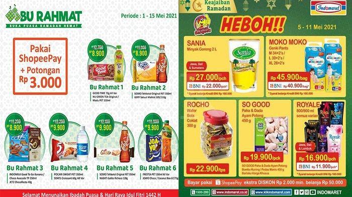 Promo Alfamart & Indomaret, Harga Lebih Murah Untuk Minuman Keju Snack Hingga Kue Kaleng