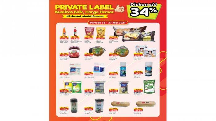 Promo Alfamart Private Labels.
