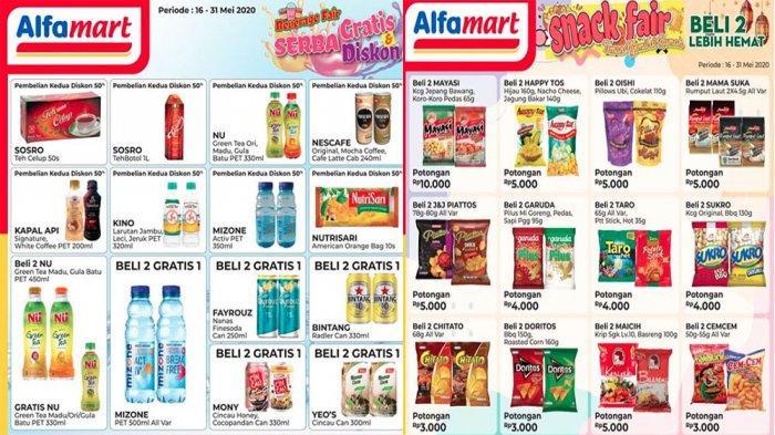 Promo Alfamart Terbaru 19 Mei Minuman Serba Gratis Dan Diskon Hingga Aneka Snack Beli 2 Lebih Hemat Tribun Pontianak
