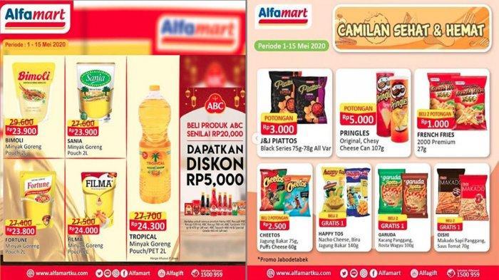 Promo Alfamart Terbaru Beragam Diskon Minyak Goreng Hingga Beli 2 Gratis 1 Biskuit Tribun Pontianak
