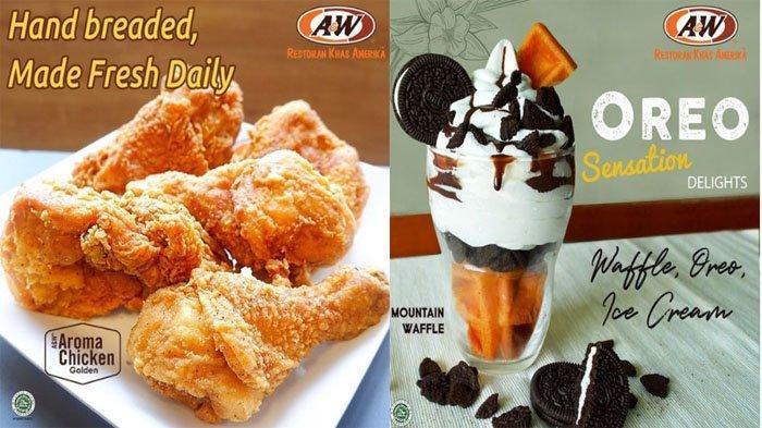 PROMO A&W Terbaru Hari Ini 13 Juli 2021, Nikmati Aroma Chicken dan Gurihnya Crispy Corn A&W