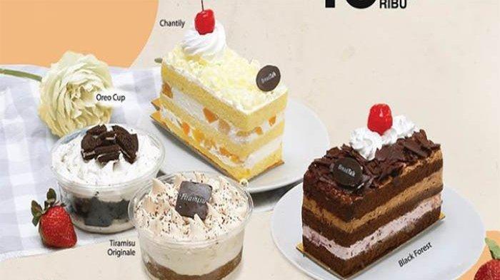 PROMO BreadTalk Hari Ini Kamis 14 Oktober 2021 Terbaru, Nikmati Cemilan Manis BreadTalk Slice Cakes