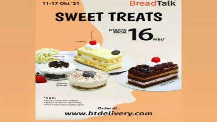 Promo BreadTalk Sweet Treats.