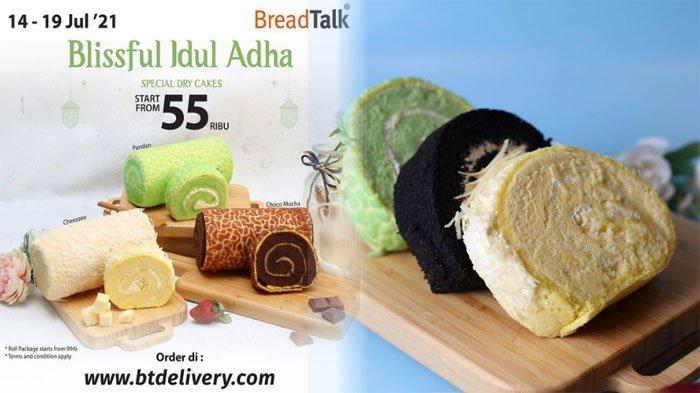 Promo BreadTalk Terbaru 14 - 19 Juli, Sambut Idul Adha dengan Breadtalk Roll Cakes hanya 55 Ribu