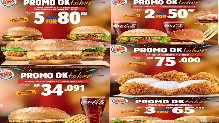 Promo Burger King 7 - 12 Oktober 2020 , Tawarkan Beragam ...