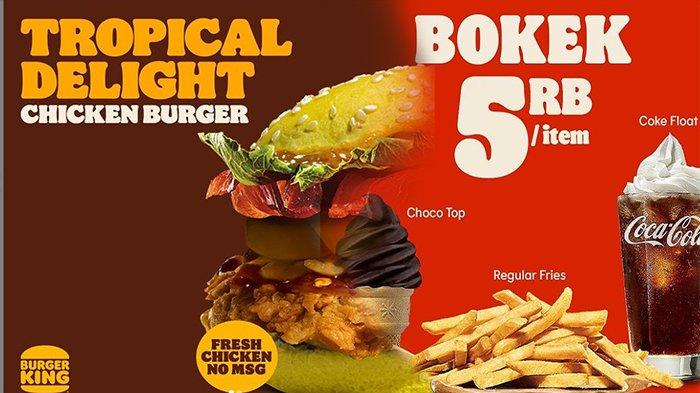PROMO Burger King Hari Ini 20 Mei 2021, Nikmati Nasi King Box Hanya 18 Ribu-an