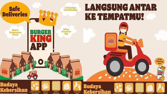 PROMO Burger King Hari Ini 5 Juli 2021, Promo Free Ongkir dan Promo 2 for 35 Buruan ke BK Terdekat