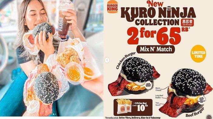 PROMO Burger King Hari Ini 15 Oktober 2021, Bertabur Promo di Tengah Bulan Mulai 5 Ribuan