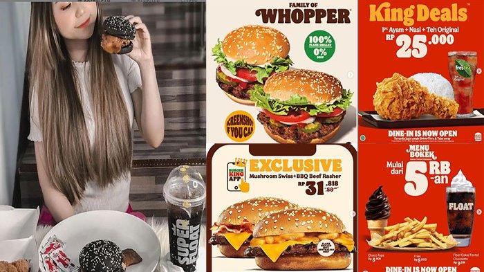 Promo Burger King Hari Ini Selasa 5 Oktober 2021 Terbaru, Asyiiiik Banyak Promo di Bulan Oktober