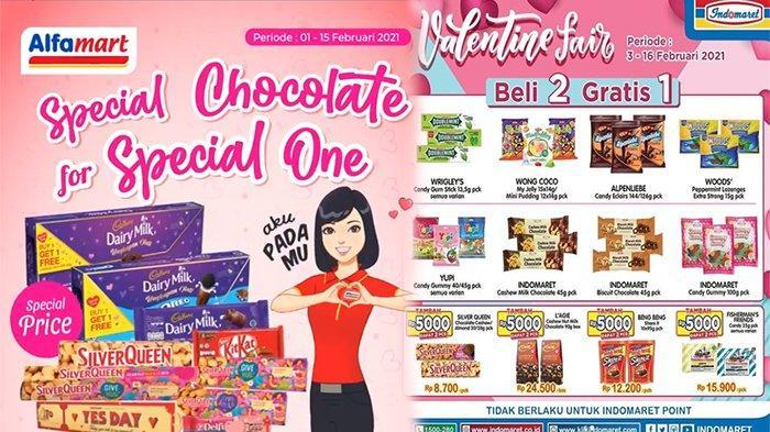 Promo Coklat Indomaret dan Alfamart Februari 2021, Beli 1 Gratis 1 Hingga Beli 2 Gratis 1
