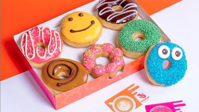 PROMO Dunkin Donuts 29 Juni 2020, Beli 6 Gratis 6 Donut hingga Harga Khusus DD CardRp 10.000