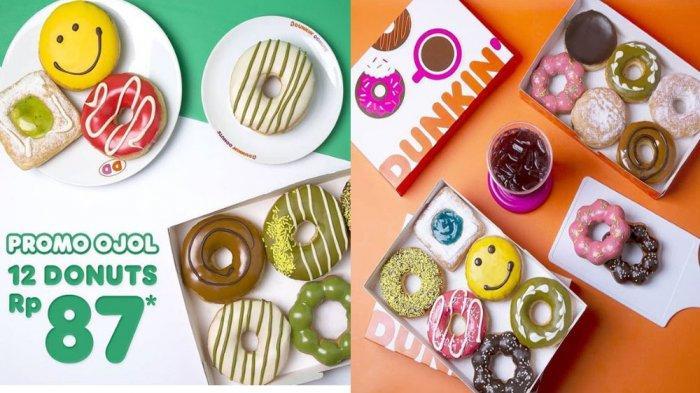 PROMO DUNKIN DONUTS 7 Mei 2021, Paket 12 Donuts Classic Rp 87 Ribu dan 18 Donuts Classic Rp 120 Ribu