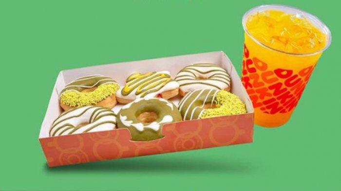 PROMO DUNKIN DONUTS Hari Ini 17 Mei 2021, Promo DD Card hingga Beli 9 Donut Gratis 3 Donut