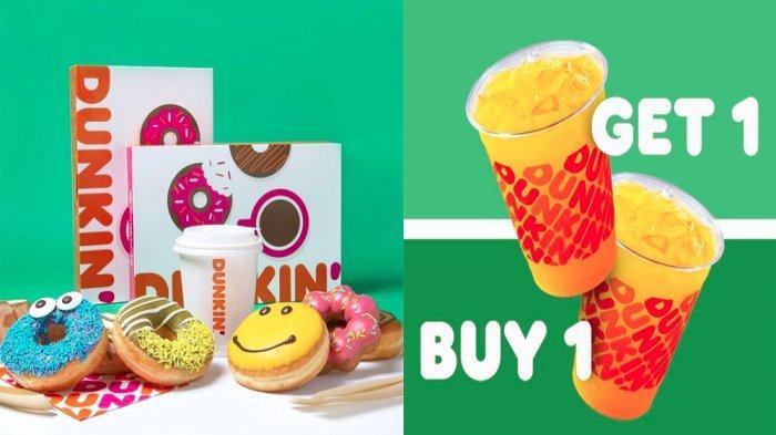 PROMO DUNKIN DONUTS Hari Ini 21 Mei 2021, 18 Donuts Classic Hemat hingga Minuman Beli 1 Gratis 1
