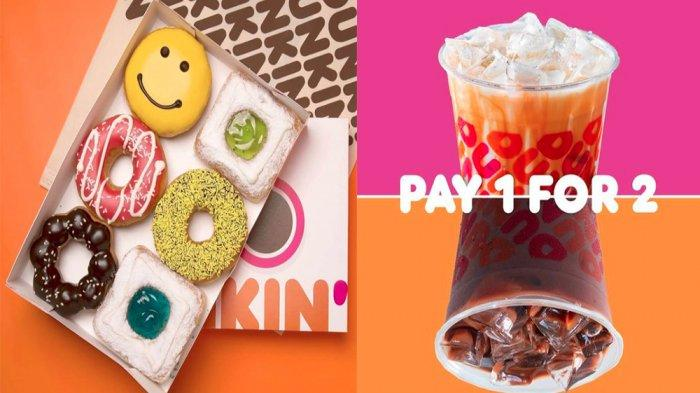 PROMO DUNKIN DONUTS Hari Ini 28 Januari 2021 Beli 8 Gratis 4 atau Beli 7 Gratis 5 Donuts Classic