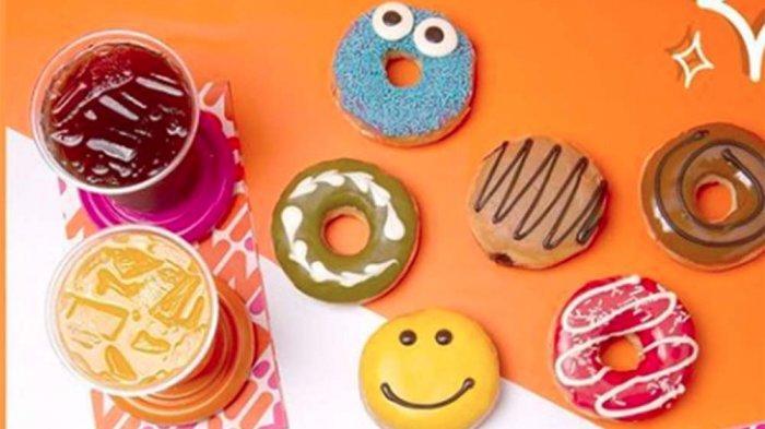PROMO DUNKIN DONUTS Hari Ini 28 Juni 2021, Paket Holyday Package 12 Donuts Classic & 3 Minuman