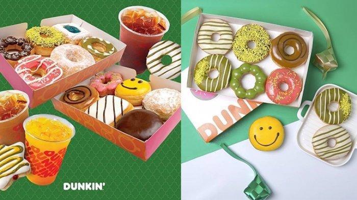 PROMO Dunkin Donuts Hari Ini 3 Mei 2021, 18 Donuts Hanya Rp 120 ribu & Pay 1 For 2 Minuman