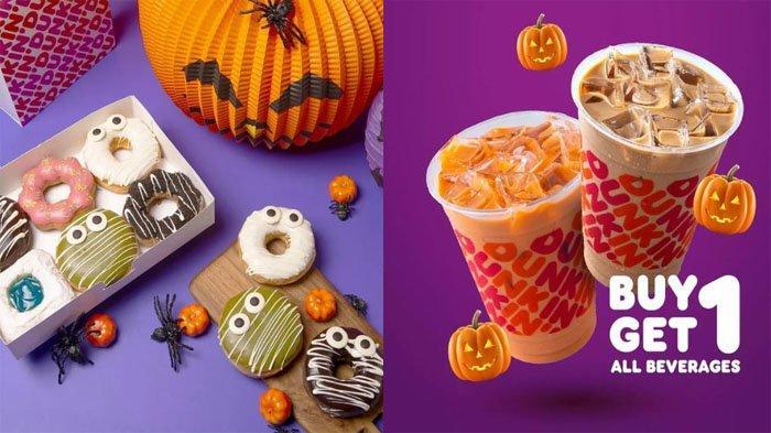 PROMO DUNKIN DONUTS Hari Ini 6 Oktober 2021, Spesial Bulan Ini Halloween Donuts Diskon 20 Persen