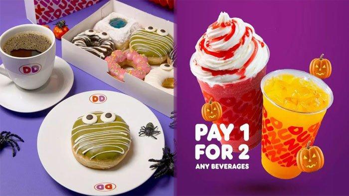 PROMO DUNKIN DONUTS Hari Ini 8 Oktober 2021, Pesan Minuman Kesukaan Apa Saja Beli 1 Dapat 2