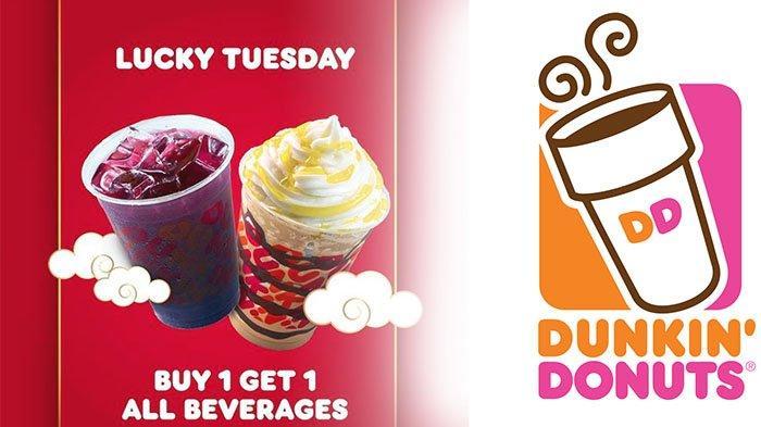 PROMO Dunkin Donuts Hari Ini Selasa 2 Februari 2021, Menu DD Ada yang Gratis ! | Cek di DD Terdekat
