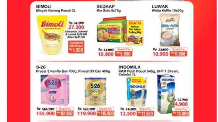 PROMO ALFAMART Hari Ini 29 Juli 2021, Beras Minyak Goreng Susu Margarin hingga Sabun Hemat