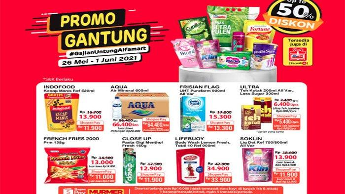 Promo Gantung Alfamart 26 Mei - 1 Juni 2021.