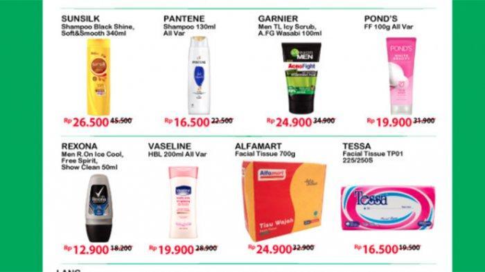 Promo gantung Alfamart periode 26 April - 2 Meil 2021.