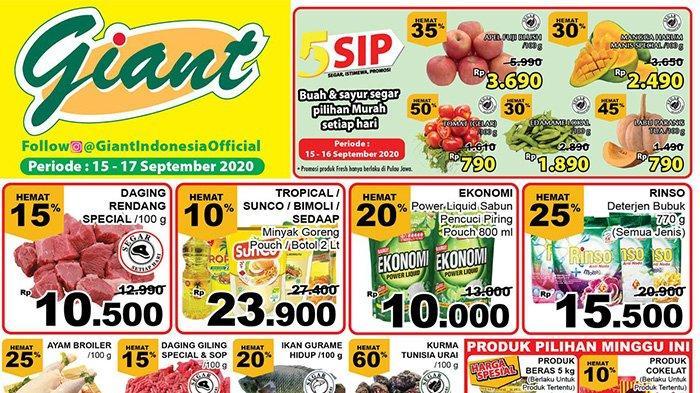 Promo Giant Terbaru 17 September Beli Barang Serba Hemat Minyak Goreng Banyak Pilihan Dan Murah Tribun Pontianak