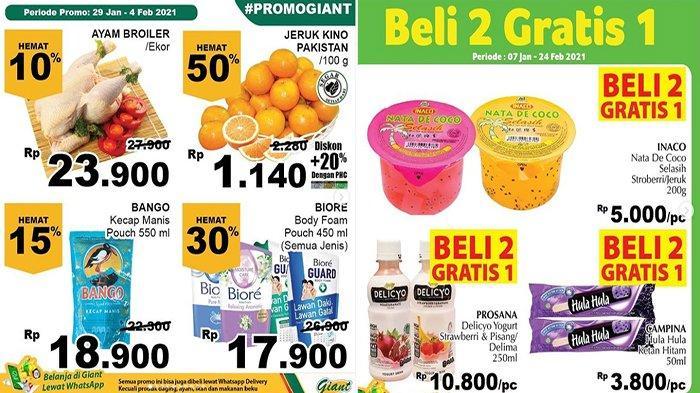 Promo Giant Hari Ini Katalog Promo Giant Beli Sabun Hemat 35 Persen, Beli Popok Hemat 20 Persen