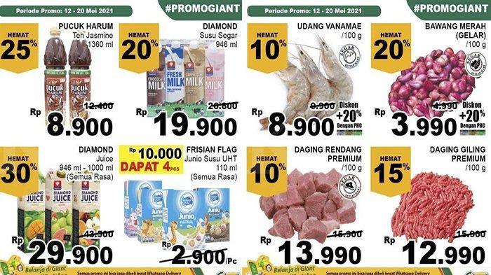 PROMO Giant Minggu Ini, Banyak Diskon untuk Susu Daging Hingga Aneka Minuman, Belanja Jadi Hemat